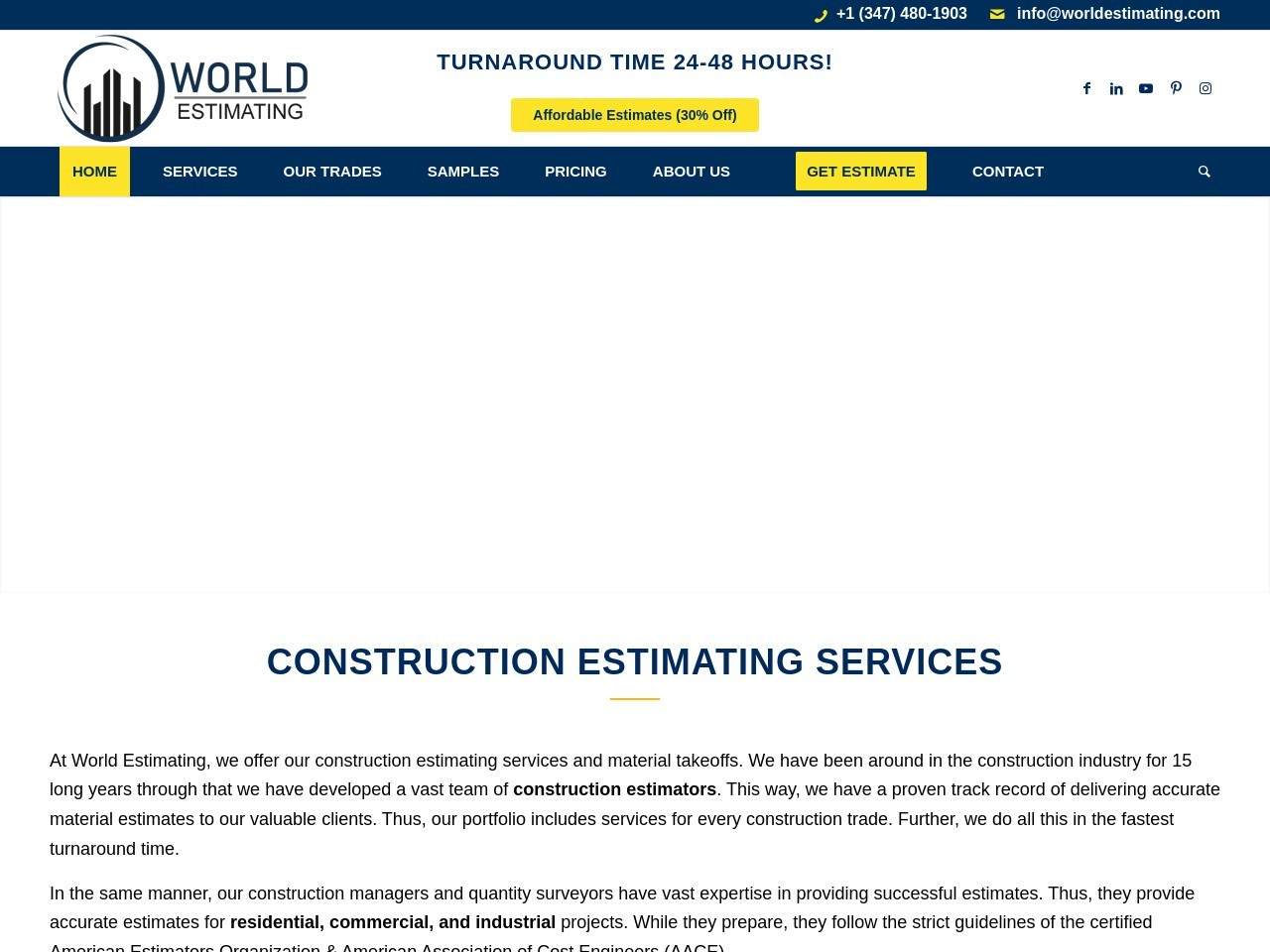 Ultimate Guide to Construction Estimating Services for Bidding and Procurement in 2020