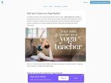 Start your Career as a Yoga Teacher