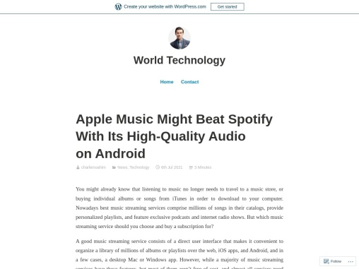 Apple Music Might Beat Spotify With Its High-Quality Audio on Android