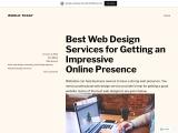 Website design and development | Responsive web design company
