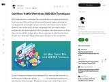 Get More Traffic With these B2B SEO Techniques