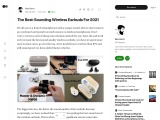 The Best-Sounding Wireless Earbuds For 2021