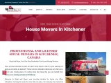 House Movers in Kitchener | Moving Services in Kitchener