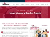 House Movers in London Ontario | Wrap and Move