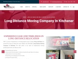 Long Distance Moving Company in Kitchener | Wrap and Move