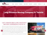 Long Distance Moving Company in Toronto    Wrap and Move