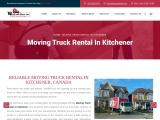 Moving Truck Rental in Kitchener | Wrap and Move