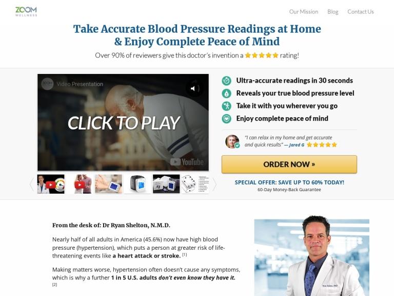 Wrist Blood Pressure Monitor screenshot