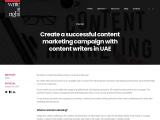 Create a successful content marketing campaign with content writers in UAE