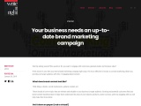 Your business needs an up-to-date brand marketing campaign