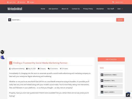 Finding a Trustworthy Social Media Marketing Partner