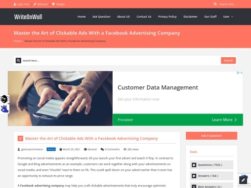 Master the Art of Clickable Ads With a Facebook Advertising Company
