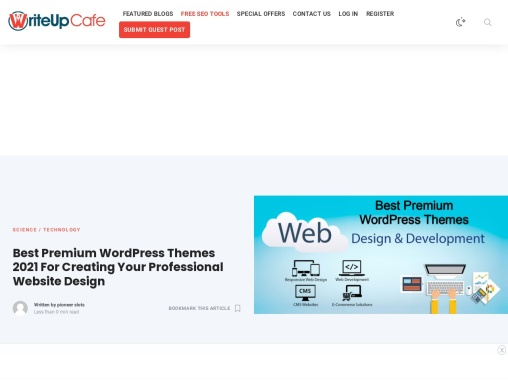Best Premium WordPress Themes 2021 For Creating Your Professional Website Design