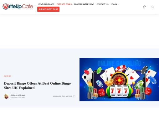 Deposit Bingo Offers At Best Online Bingo Sites UK Explained