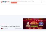 Find the Top New Online Bingo Sites UK