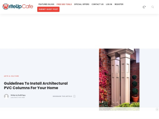 Guidelines To Install Architectural PVC Columns For Your Home