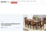 How To Choose The Right Space For Your Dining Table
