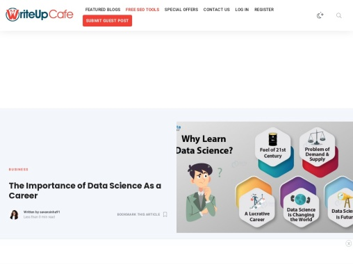 The Importance of Data Science As a Career