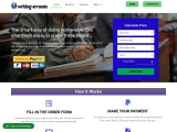 Get quality writing service and assignments – Writing Errands