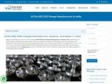 ASTM A182 F202 Flange Manufacturer