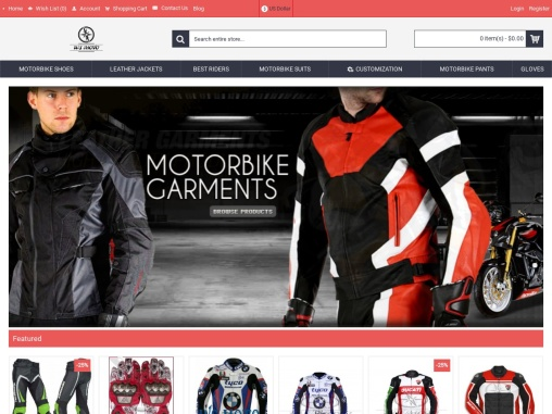 Motorcycle Jackets And Suits