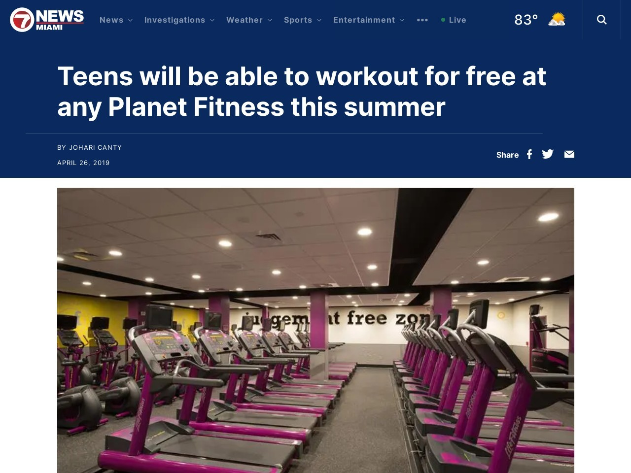 …for free at any Planet Fitness this…