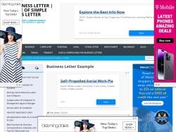 101 Business Letter screenshot