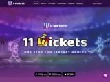 Daily Fantasy Cricket, Football & Basketball League Games   11Wickets