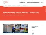 Ambulance Billing Services in Antioch, California (CA)