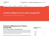 Ambulance Billing Services in Athens, Georgia (GA)   24/7 Medical Billing Services
