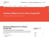 Ambulance Billing Services in Atlanta, Georgia (GA)   24/7 Medical Billing Services