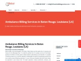 Ambulance Billing Services in Baton Rouge, Louisiana (LA)   24/7 Medical Billing Services