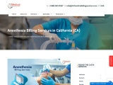 Anesthesia Billing Services in California (CA) – 24/7 Medical Billing Services