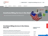 Anesthesia Billing Services in Des Moines, Iowa (IA)