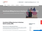 Anesthesia Billing Services in Durham, North Carolina (NC)