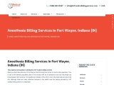 Anesthesia Billing Services in Fort Wayne, Indiana (IN) – 24/7 Medical Billing Services