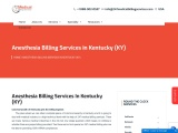 Anesthesia Billing Services in Kentucky (KY) – 24/7 Medical Billing Services