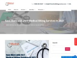 Save More with 24/7 Medical Billing Services in 2021