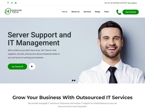Grow Your Business With Outsourced IT Services in Canada