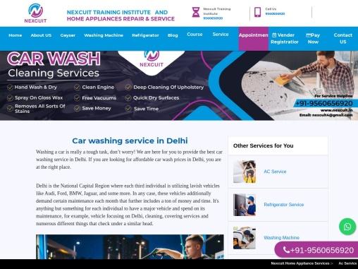 Car wash in Delhi   Car wash price in Delhi   24×7 AC Service