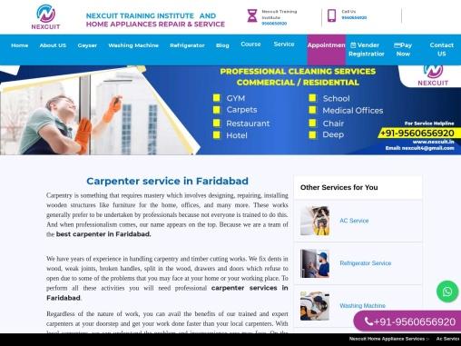 Carpenter service in Faridabad   Carpenter faridabad sector 37