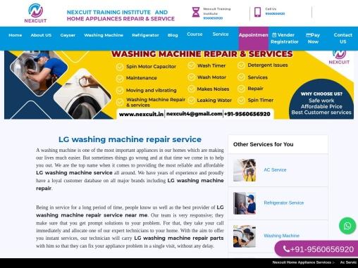 LG washing machine repair service   24×7 AC Company