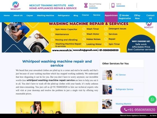 Whirlpool washing machine repair and service   24×7 AC Company