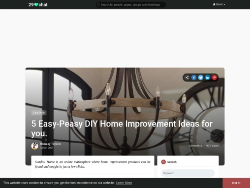 Home Decore improvement for you