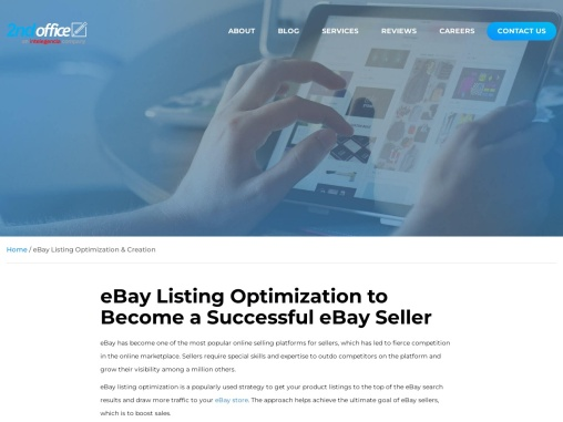 eBay Listing Optimization Service