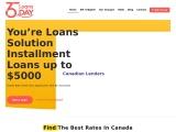 Guaranteed Installment Loans Canada ODSP   365 Day Loans™