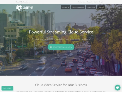 Cloud video streaming services