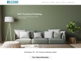 Best 3D Furniture Modeling company in India
