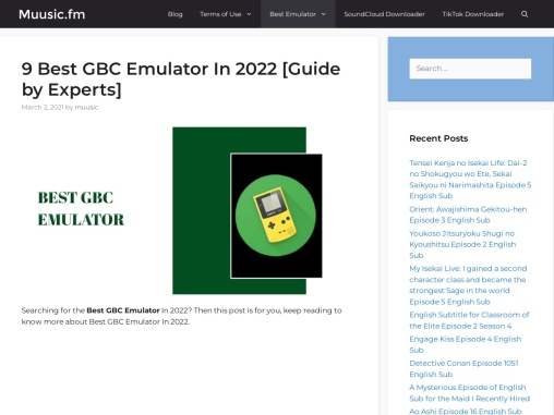 9 Best GBC Emulator for Android as of 2021- Review And Guide