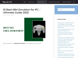 10 Best N6 Emulator for PC – Review and Guide